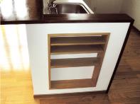 【収納】何かと便利なキッチン横の収納スペース