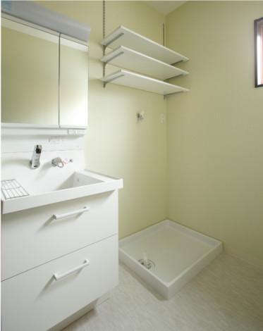 水廻りも1階・2階それぞれに配置