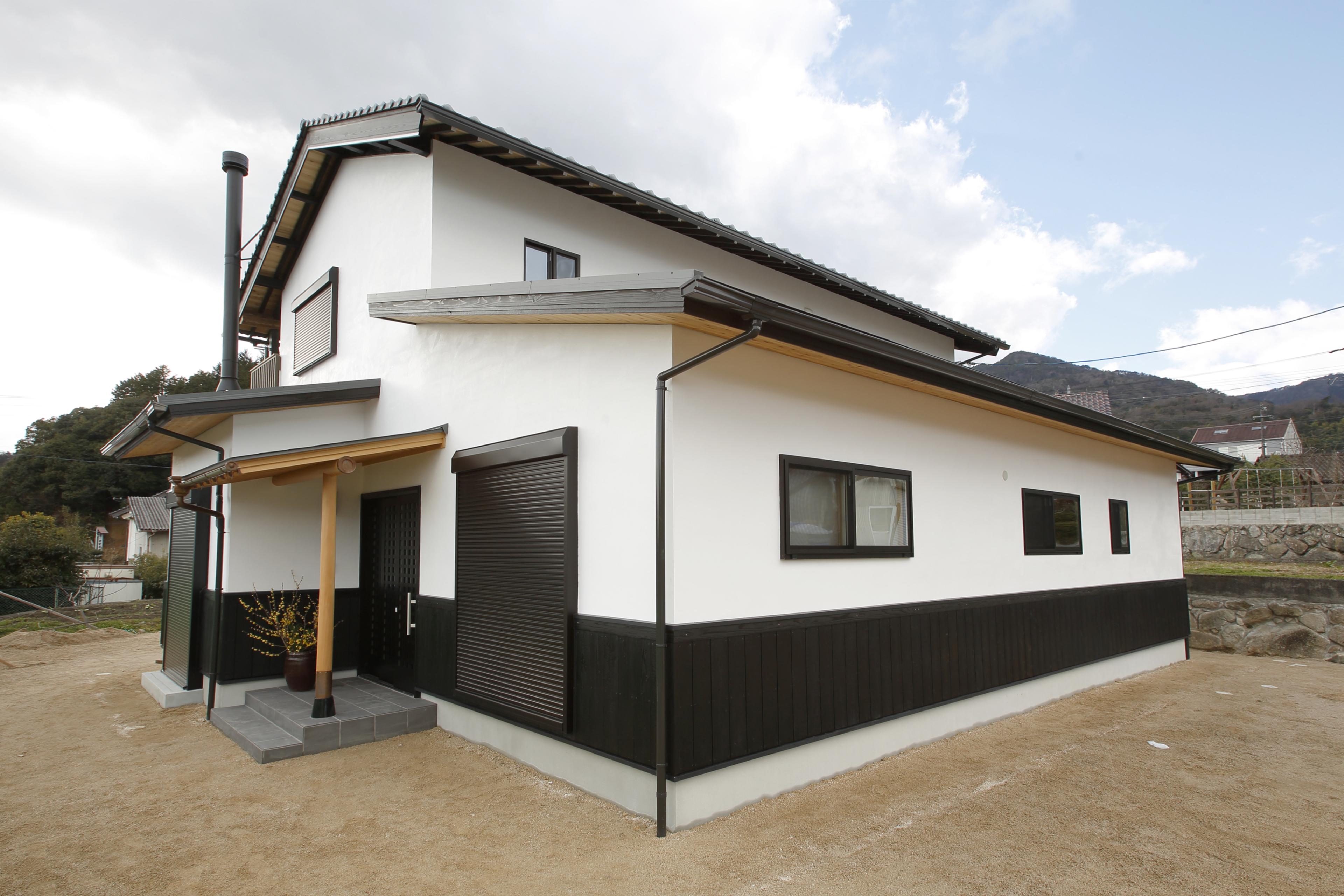 古民家風 新築 古材 広島